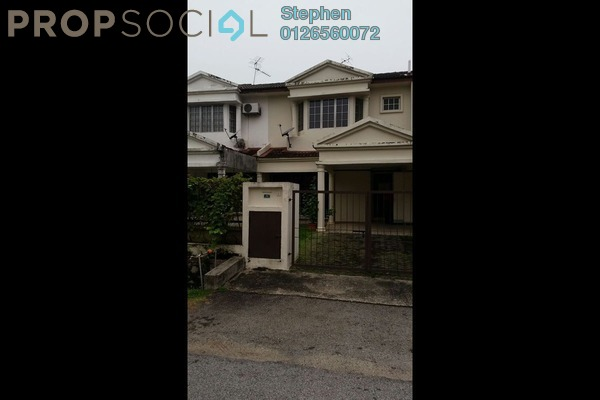 For Rent Terrace at SD9, Bandar Sri Damansara Freehold Unfurnished 4R/3B 1.5k