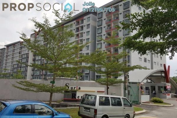 For Rent Apartment at Suria Residence, Bandar Mahkota Cheras Freehold Unfurnished 3R/2B 950translationmissing:en.pricing.unit