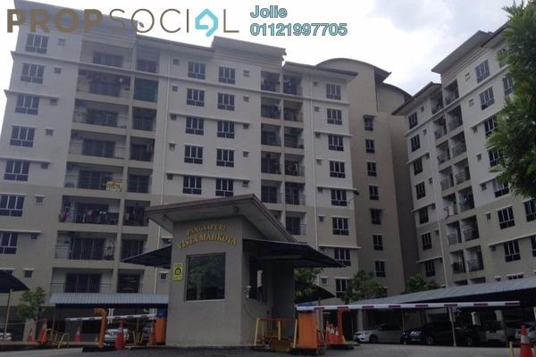 For Rent Apartment at Vista Mahkota Apartment, Bandar Mahkota Cheras Freehold Unfurnished 3R/2B 950translationmissing:en.pricing.unit