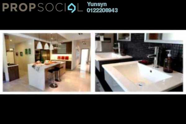 For Sale Condominium at Villa Orkid, Segambut Freehold Semi Furnished 3R/4B 700k