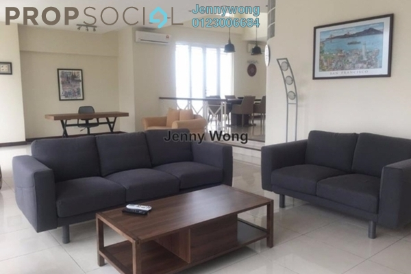 For Rent Duplex at Seri Bukit Ceylon, Bukit Ceylon Freehold Fully Furnished 3R/4B 10k