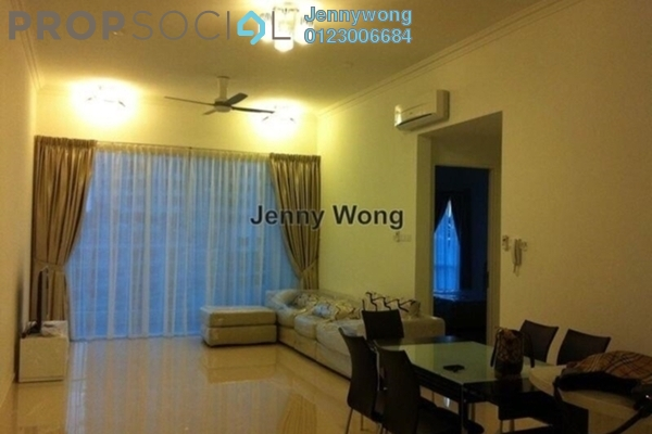 For Sale Condominium at The Park Residences, Bangsar South Leasehold Fully Furnished 2R/2B 1.1m