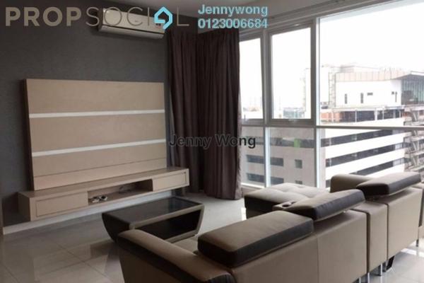For Rent Condominium at Uptown Residences, Damansara Utama Freehold Fully Furnished 3R/4B 6.8k