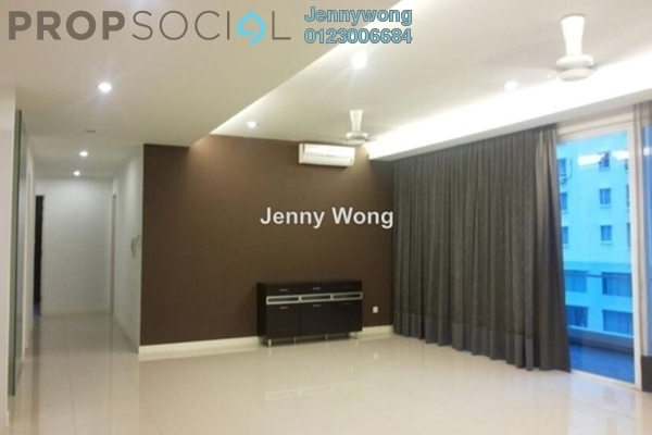 For Sale Condominium at The Park Residences, Bangsar South Leasehold Fully Furnished 3R/4B 1.48m