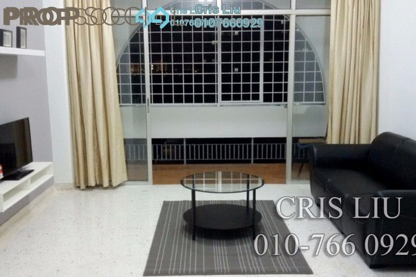 For Rent Apartment at Bustan Apartment, Cheras Leasehold Fully Furnished 3R/2B 1.5k