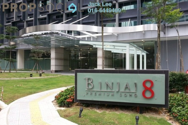 For Rent Office at Binjai 8, KLCC Freehold Semi Furnished 0R/0B 4.8k