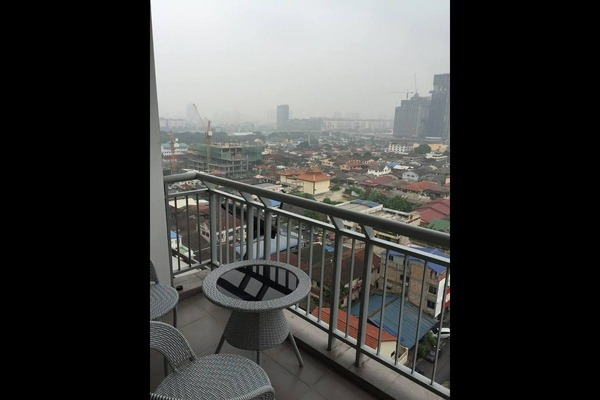 For Sale Serviced Residence at Park 51 Residency, Petaling Jaya Leasehold Semi Furnished 2R/2B 495k