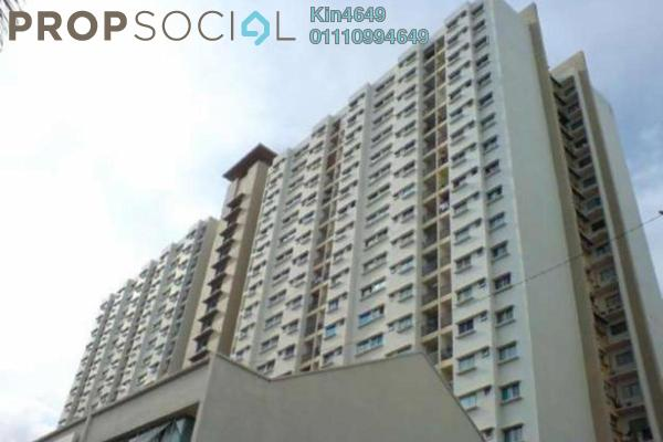 For Rent Apartment at Symphony Park, Jelutong Freehold Semi Furnished 3R/2B 1.2k