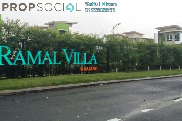 For Sale Semi-Detached at Ramal Villa, Kajang Freehold Semi Furnished 7R/7B 1.26m