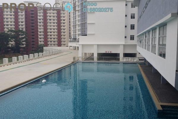 For Rent Condominium at Suasana Lumayan, Bandar Sri Permaisuri Leasehold Semi Furnished 3R/2B 1.5k