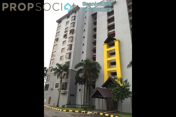 For Rent Condominium at Subang Ville Ehsan, Bandar Sunway Leasehold Semi Furnished 3R/2B 1.3k
