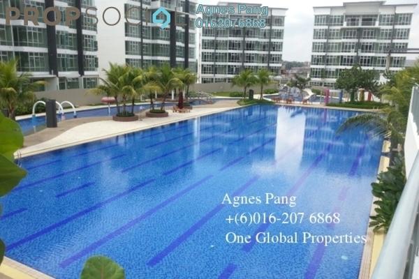 For Rent Condominium at Taman Skudai Baru, Skudai Freehold Fully Furnished 3R/3B 3k