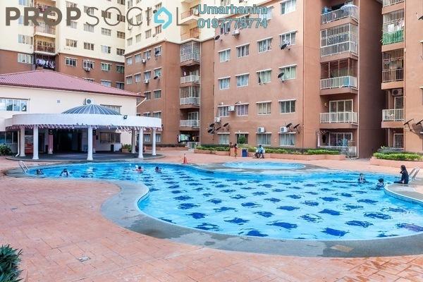 For Sale Apartment at Damai Mewah B Apartment, Kajang Freehold Unfurnished 3R/2B 300k