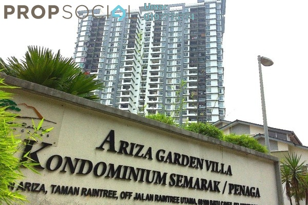 For Sale Condominium at Taman Raintree, Batu Caves Leasehold Fully Furnished 3R/2B 460k