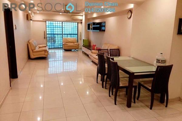 For Rent Condominium at Pandan Villa, Pandan Indah Leasehold Fully Furnished 4R/2B 2k