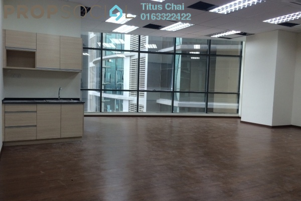 For Rent Office at Vertical Suites, Bangsar South Leasehold Semi Furnished 0R/0B 5.7k