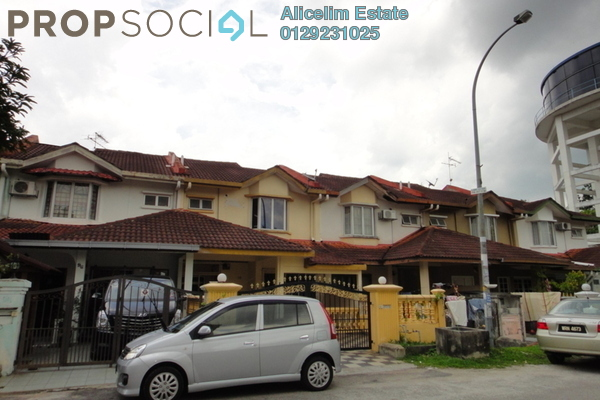 For Sale Terrace at Taman Subang Murni, Subang Leasehold Fully Furnished 4R/3B 520k