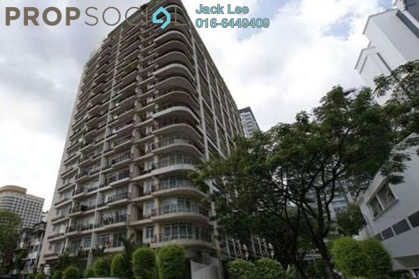 For Rent Condominium at 38 Bidara, Bukit Ceylon Freehold Fully Furnished 2R/2B 2.6k