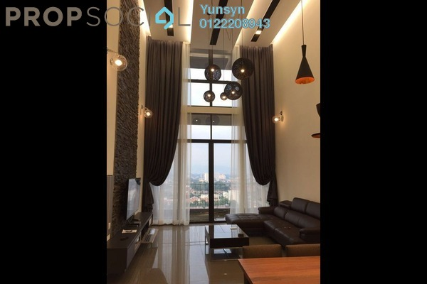 For Rent Condominium at Azelia Residence, Bandar Sri Damansara Freehold Fully Furnished 3R/3B 4.5k