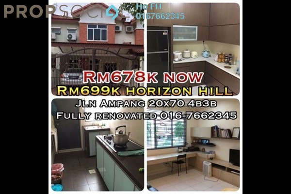 For Sale Terrace at The Hills, Horizon Hills Freehold Semi Furnished 4R/3B 678k