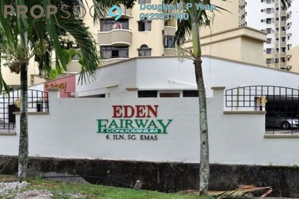 For Rent Condominium at Eden Fairway, Batu Ferringhi Freehold Semi Furnished 3R/2B 1.35k