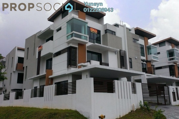 For Sale Semi-Detached at Sunville, Kajang Freehold Semi Furnished 6R/7B 1.8m