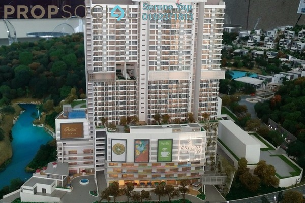 For Sale Condominium at Nadayu63, Melawati Leasehold Semi Furnished 1R/1B 468k