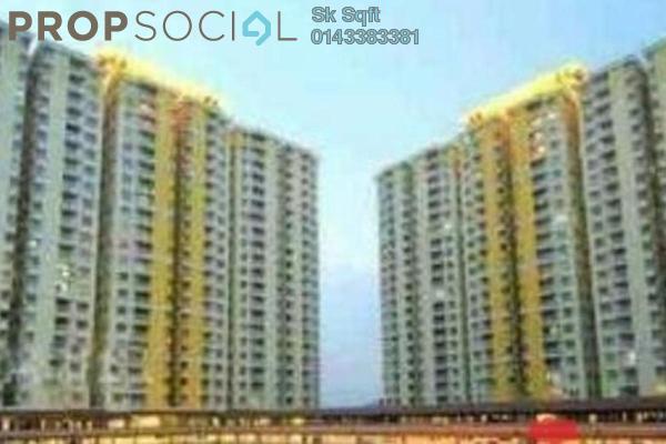 For Sale Condominium at Platinum Lake PV12, Setapak Leasehold Semi Furnished 3R/2B 780k