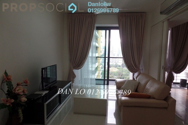 For Rent Condominium at Hampshire Place, KLCC Freehold Fully Furnished 1R/1B 3.5k