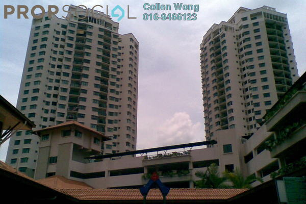 For Sale Condominium at Changkat View, Dutamas Freehold Semi Furnished 3R/2B 620k