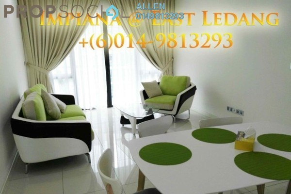 For Rent Condominium at Impiana Residences, Iskandar Puteri (Nusajaya) Freehold Fully Furnished 2R/2B 2.2k