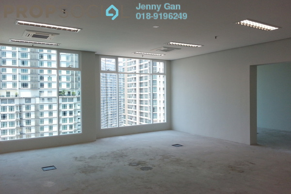 For Rent Office at Soho Suites, KLCC Freehold Semi Furnished 0R/0B 3.5k