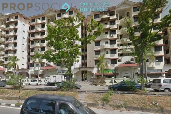 For Sale Apartment at Bayan Permai Apartment, Bayan Lepas Freehold Semi Furnished 3R/2B 260k