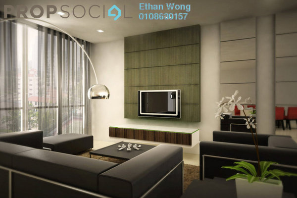 For Sale Condominium at The Edge Residen, Subang Jaya Leasehold Semi Furnished 3R/2B 580k