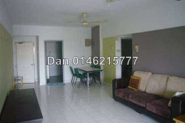 For Sale Condominium at Anjung Hijau, Bukit Jalil Freehold Fully Furnished 3R/2B 520k