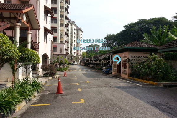 For Sale Condominium at Ixora Apartment, Pudu Leasehold Semi Furnished 3R/2B 375k