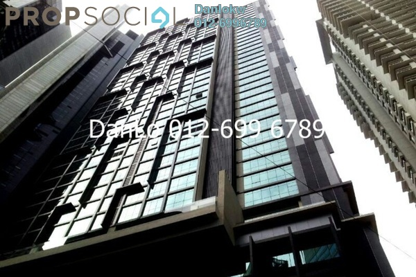 For Rent Office at Binjai 8, KLCC Freehold Semi Furnished 2R/2B 6k