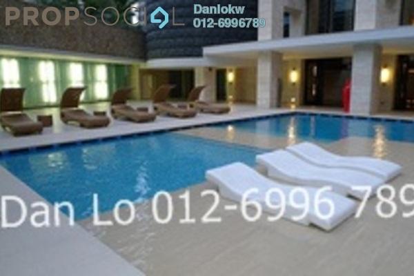 For Sale Office at Binjai 8, KLCC Freehold Semi Furnished 1R/1B 900k