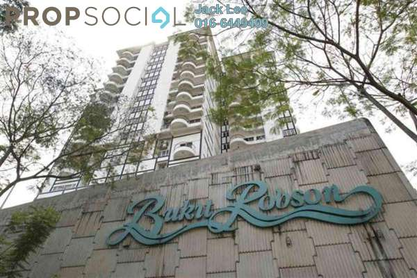 For Rent Condominium at Bukit Robson Condominium, Seputeh Freehold Fully Furnished 3R/2B 2.5千