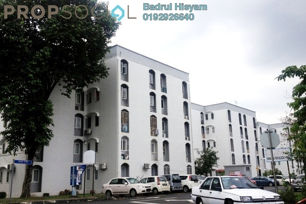 For Sale Apartment at Elena Apartment, Desa Pandan Leasehold Semi Furnished 3R/2B 255k