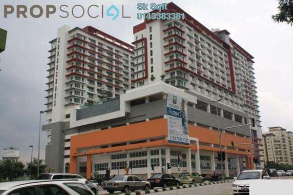 For Rent SoHo/Studio at Ritze Perdana 2, Damansara Perdana Leasehold Fully Furnished 1R/1B 1.8k