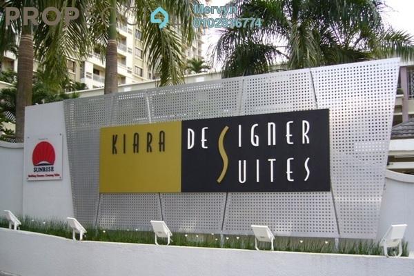 For Sale Condominium at Kiara Designer Suites, Mont Kiara Freehold Fully Furnished 3R/2B 950k