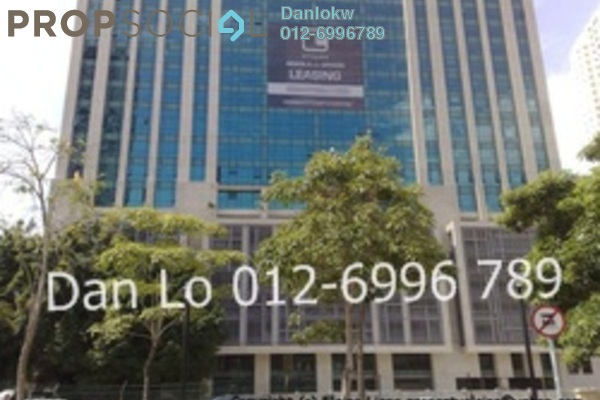 For Rent Office at GTower, KLCC Freehold Semi Furnished 1R/1B 34k