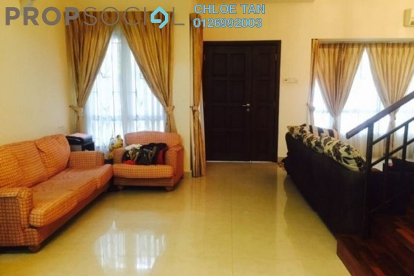 For Rent Terrace at Lakeside Terrace, Kota Kemuning Freehold Fully Furnished 5R/4B 3k