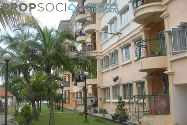For Sale Apartment at Sri Camellia Apartment, Bandar Puteri Puchong Freehold Semi Furnished 3R/2B 299k