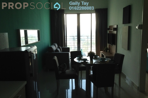 For Rent SoHo/Studio at DPulze, Cyberjaya Freehold Fully Furnished 1R/1B 1.6k