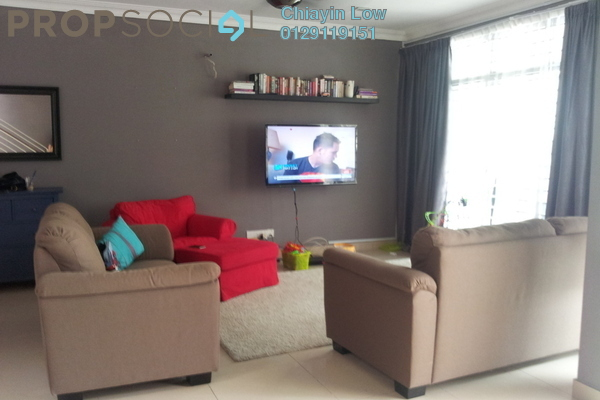 For Sale Terrace at Laman Glenmarie, Saujana Freehold Semi Furnished 4R/4B 930k