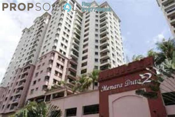 For Rent Condominium at Menara Duta 2, Dutamas Freehold Fully Furnished 3R/2B 2.05k