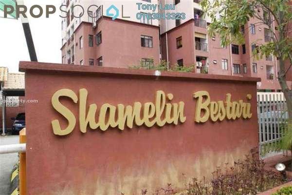 For Rent Condominium at Shamelin Bestari, Cheras Freehold Unfurnished 3R/2B 1.3k
