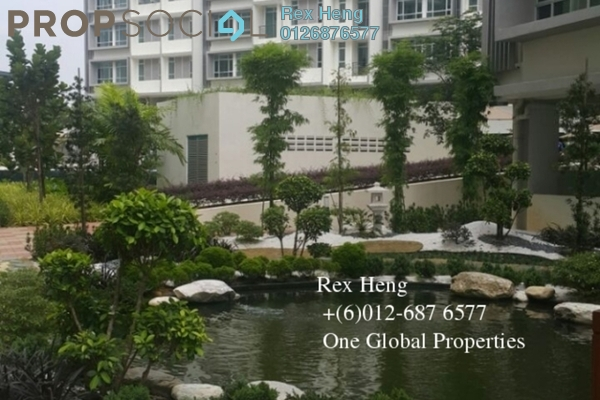 For Rent Condominium at Taman Mount Austin, Tebrau Freehold Fully Furnished 0R/1B 2k
